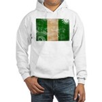 Nigeria Flag Hooded Sweatshirt