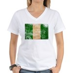 Nigeria Flag Women's V-Neck T-Shirt