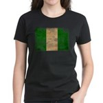 Nigeria Flag Women's Dark T-Shirt
