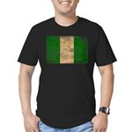Nigeria Flag Men's Fitted T-Shirt (dark)