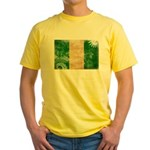 Nigeria Flag Yellow T-Shirt