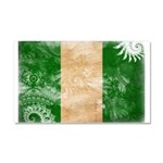 Nigeria Flag Car Magnet 20 x 12
