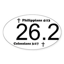 Christian 26.2 Decal