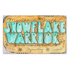 Snowflake Warrior Decal