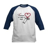 Nurses Work of Heart Tee