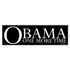 Obama One More Time Bumper Sticker