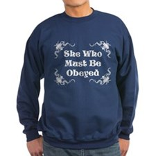 Must Be Obeyed (silver) Jumper Sweater