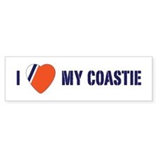 Love my Coastie Bumper Sticker