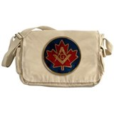 Canadian Freemasonry Messenger Bag