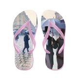 Caillebotte - Paris St Flip Flops