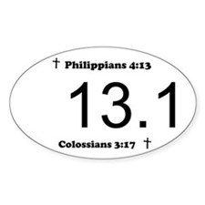 Christian 13.1 Decal