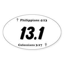 Christian 13.1 Decal