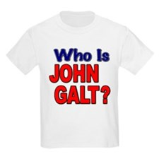 Who Is John Galt? Kids T-Shirt