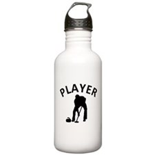 Curling Player Water Bottle