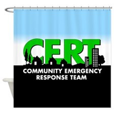 CERT Shower Curtain