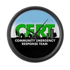 CERT Large Wall Clock