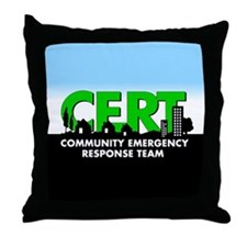 CERT Throw Pillow