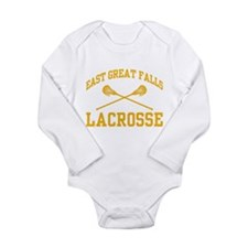 East Great Falls Lacrosse Long Sleeve Infant Bodys