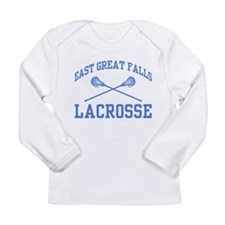East Great Falls Lacrosse Long Sleeve Infant T-Shi