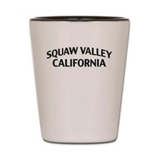 Squaw Valley California Shot Glass