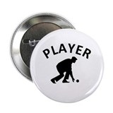 "Lawn Bowling Player 2.25"" Button"