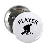 "Lawn Bowling Player 2.25"" Button (10 pack)"