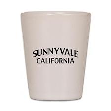 Sunnyvale California Shot Glass