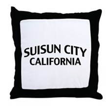 Suisun City California Throw Pillow
