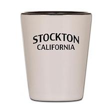 Stockton California Shot Glass