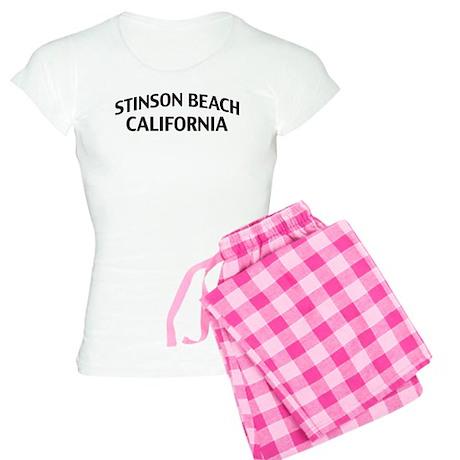 Stinson Beach California Women's Light Pajamas