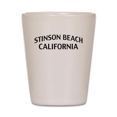 Stinson Beach California Shot Glass