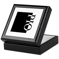 PIO Typography Keepsake Box