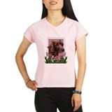 Mothers Day Pink Tulips Irish Setter Performance D