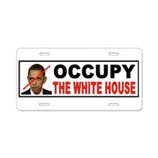 OCCUPY DC Aluminum License Plate