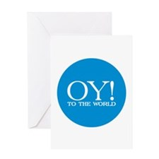 Oy! to the World Products Greeting Card