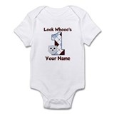 Look Whoo's 1 Boys Onesie