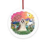 FantasyLand-ShihTzu#10 Ornament (Round)