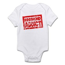 Keeshond ADDICT Infant Bodysuit