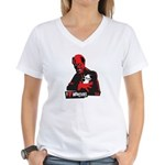I HEART Monsters Women's V-Neck T-Shirt