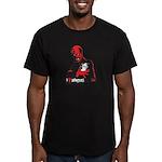 I HEART Monsters Men's Fitted T-Shirt (dark)