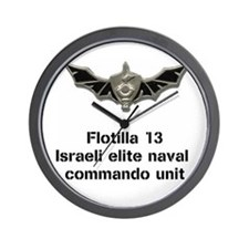 """Flotilla 13"" Wall Clock"
