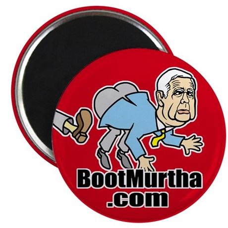 "Boot Murtha 2.25"" Magnet (100 pack)"