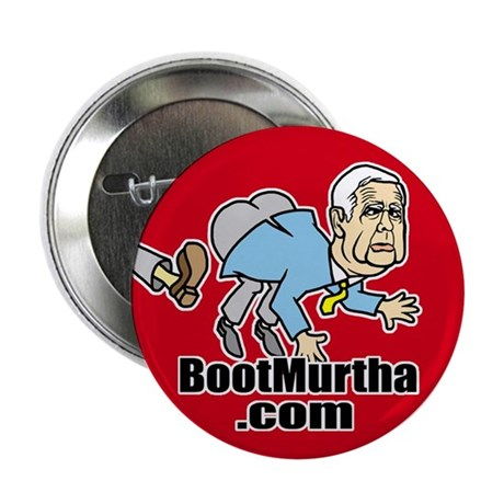 "Boot Murtha 2.25"" Button (100 pack)"