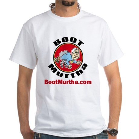 Boot Murtha White T-Shirt