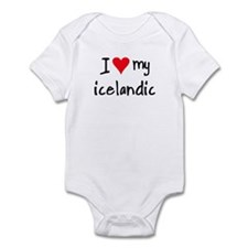 I LOVE MY Icelandic Onesie