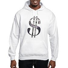 US Dollar Sign   Hoodie