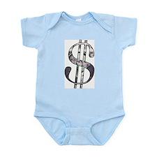 US Dollar Sign | Infant Creeper