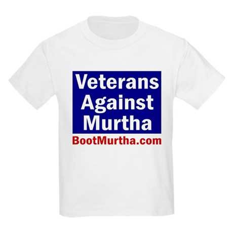 Veterans Against Murtha Kids T-Shirt