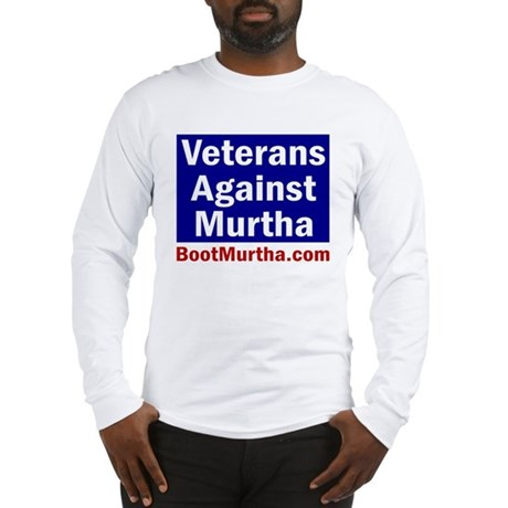 Veterans Against Murtha Long Sleeve T-Shirt