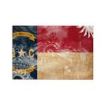 North Carolina Flag Rectangle Magnet (100 pack)